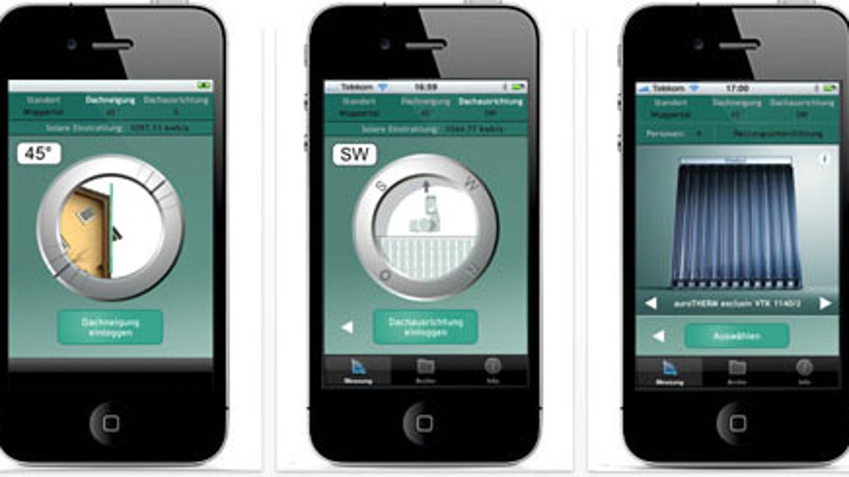 mobile apps zur heizungssteuerung auslegung etc vaillant. Black Bedroom Furniture Sets. Home Design Ideas