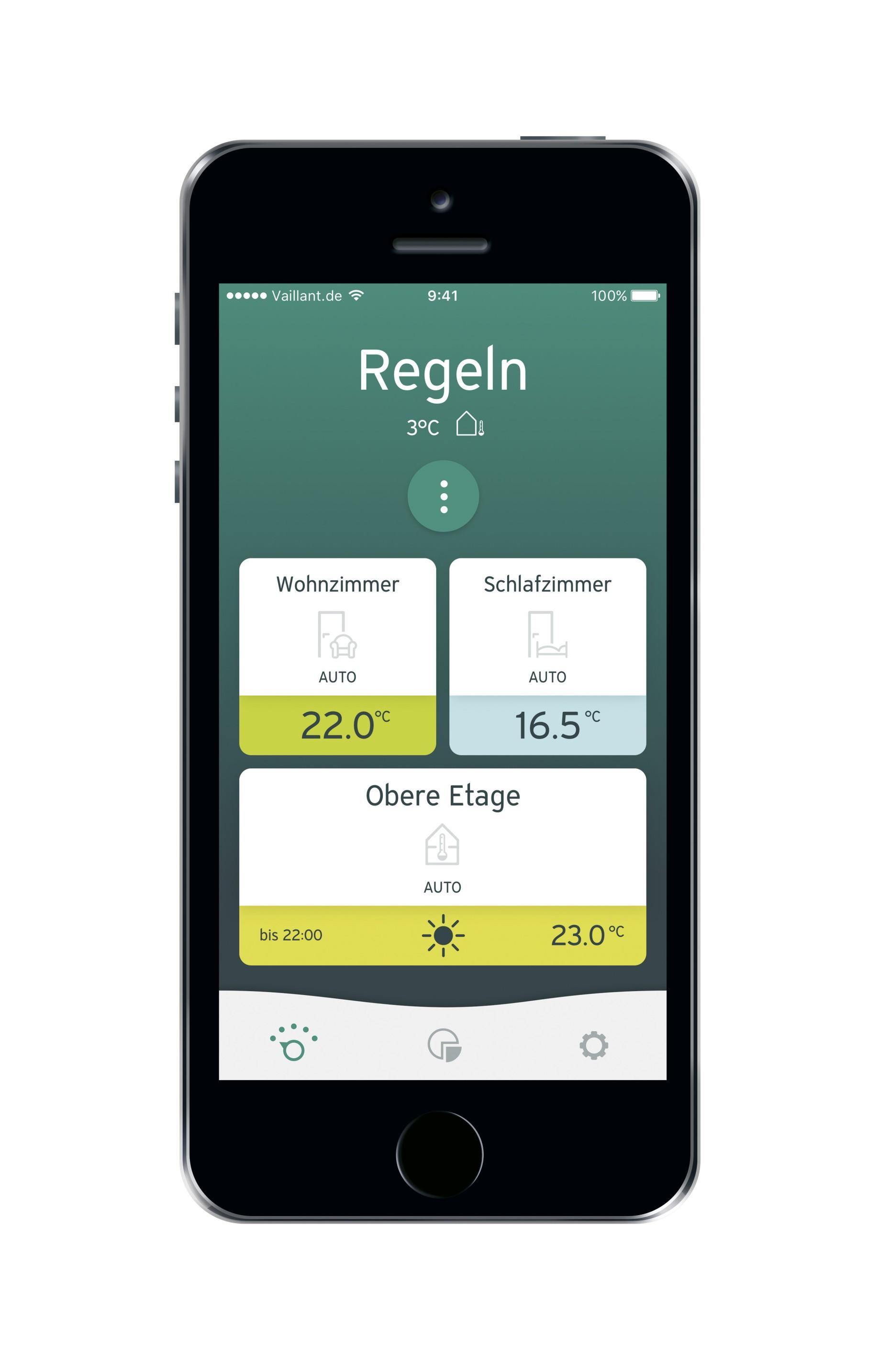 multimatic app heizungssteuerung aus der ferne vaillant